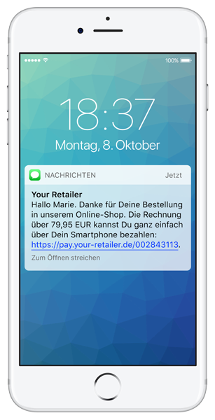Mobile Rechnung per SMS
