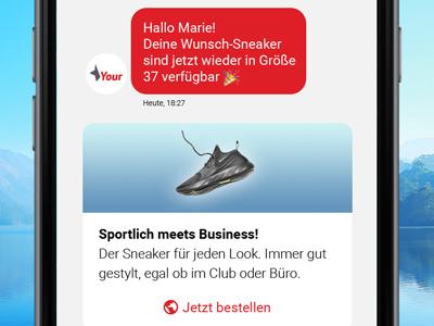 LINK Conversations - Endkunden über alle Kanäle erreichen - unabhängig vom Endgerät Ihrer Kunden