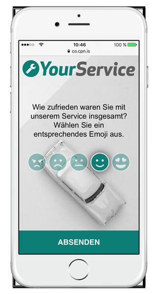 LINK Collect zur Qualitätssicherung der Services