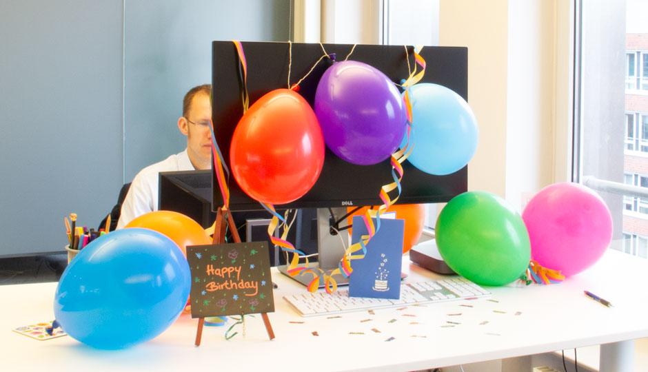 Nicht nur Erfolge werden gefeiert – auch Geburtstagskinder!