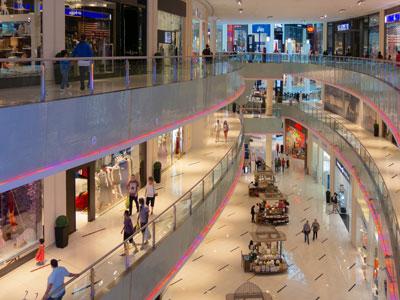 Shopping Mall. Gutscheine per SMS zur Verkaufsförderung im stationären Handel.