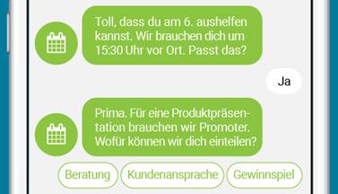 LINK Mobility Flyer - Wie bekomme ich Angebote und Infos aufs Handy meiner Fans?