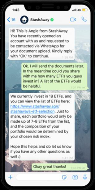 WhatsApp Business Provider, Nachricht aus dem Bereich Aktien