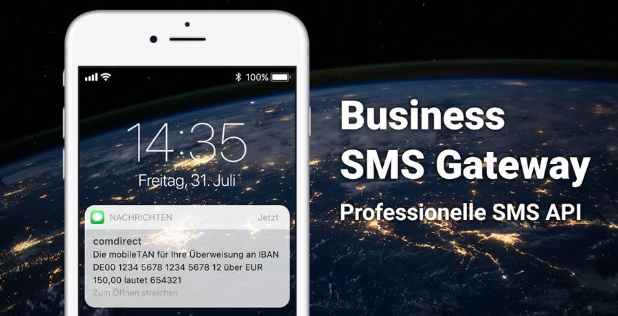 Einfacher SMS-Versand über unser SMS Gateway