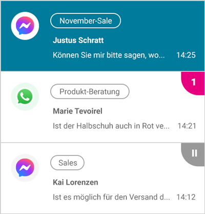 So funktioniert LINK Chat