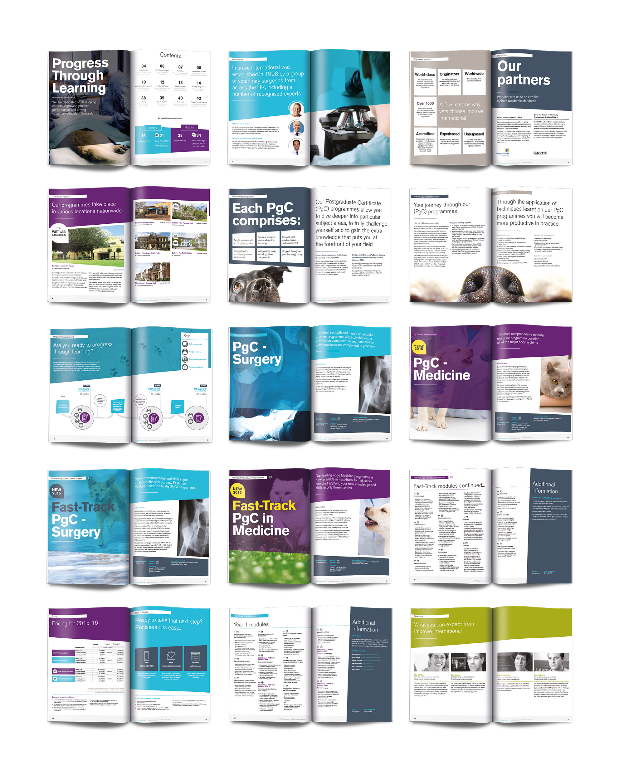 award winning brochure design