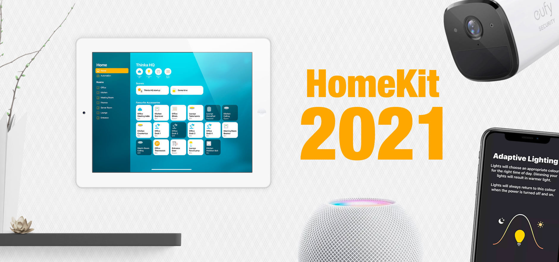HomeKit releases in 2021
