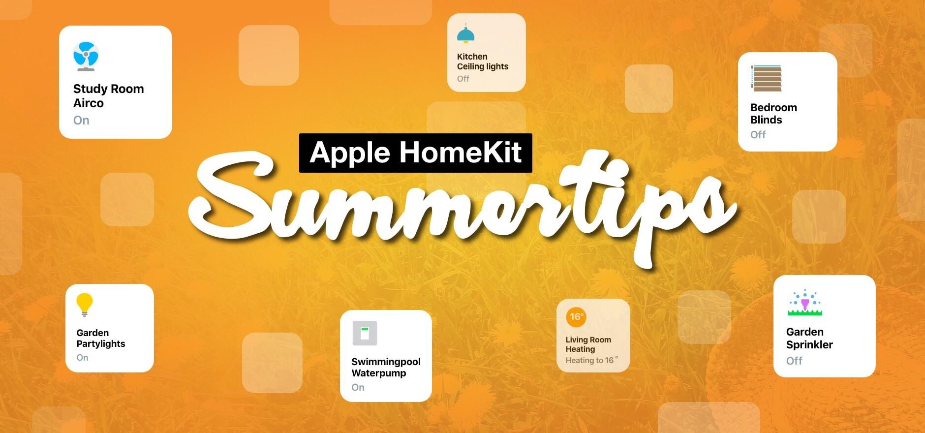 HomeKit for KNX Summer tips