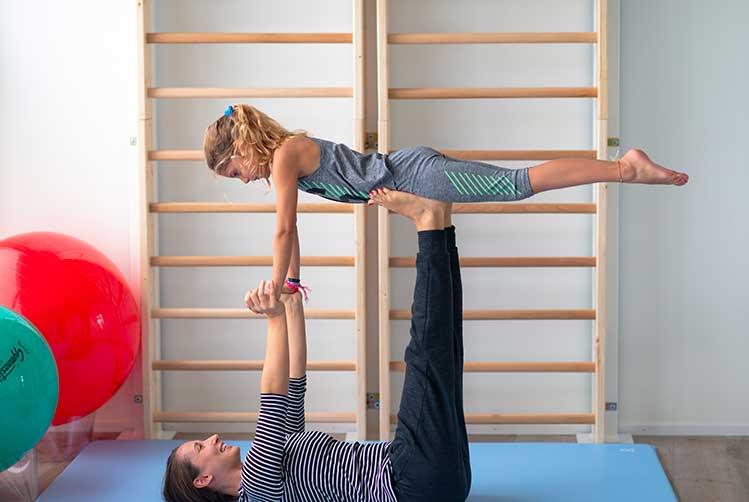 exercice physiothérapie enfant