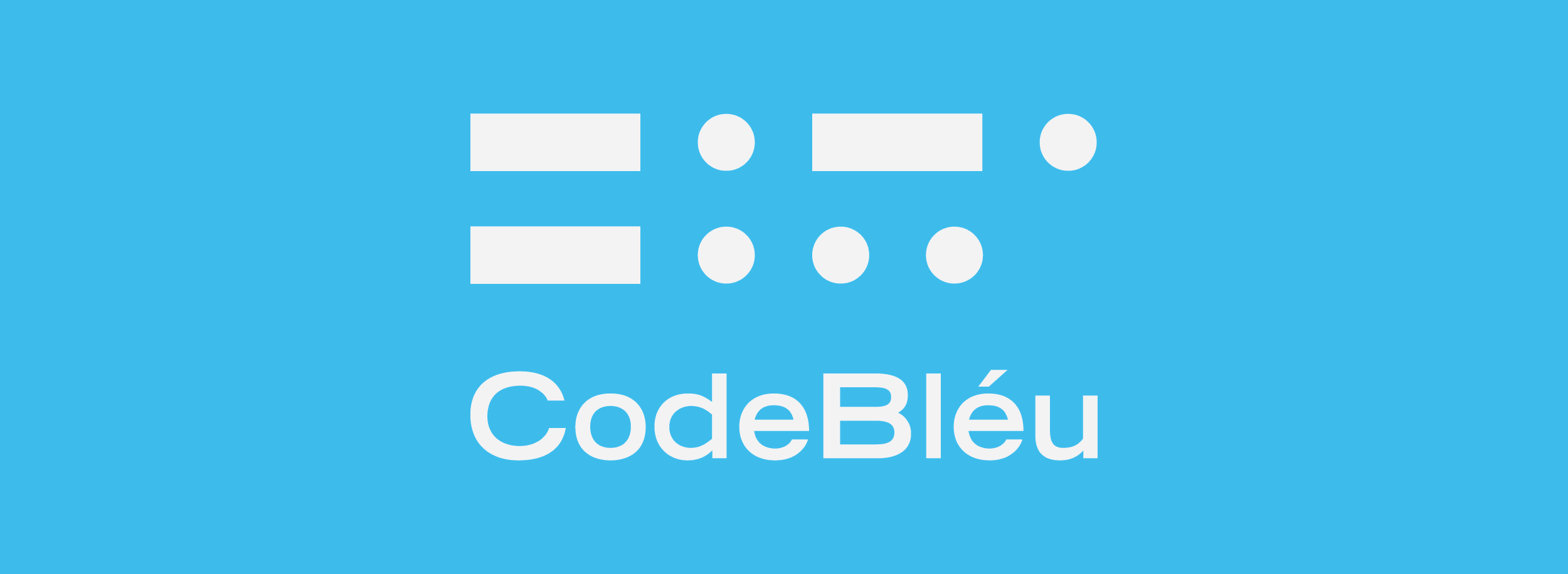 Morse code is a very powerful way to communicate information visually. We've used that language to create a minimalist and modern geometric logo