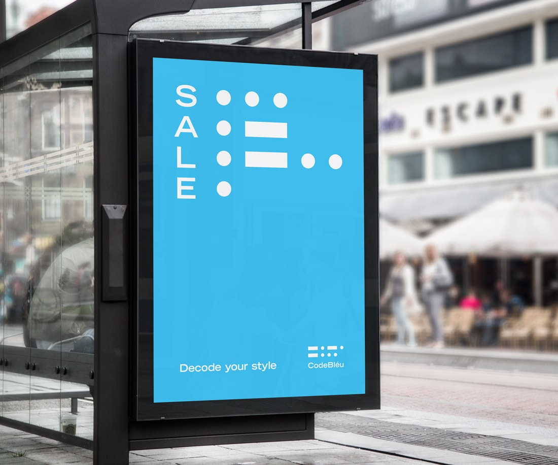 The unusual visual approach can be easily used to generate infinite advertising ideas – like this attention-grabbing outdoor ad display