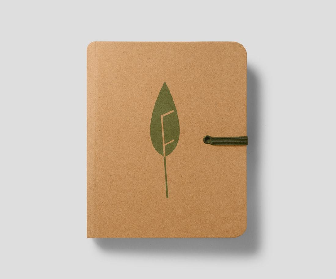 Crafty notepad helps to make a connection with the target audience. © LET'S PANDA for freshpep