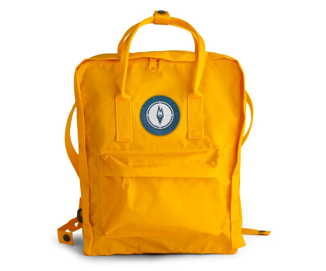 Bright yellow camper backpack Outdoor Essentials