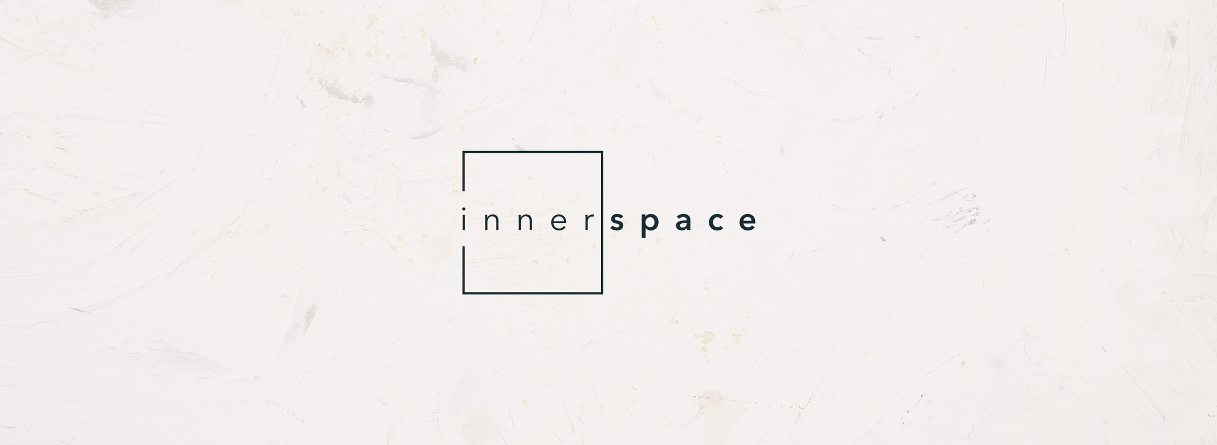 Innerspace logo: minimalist and meaningful geometric symbol. © LET'S PANDA