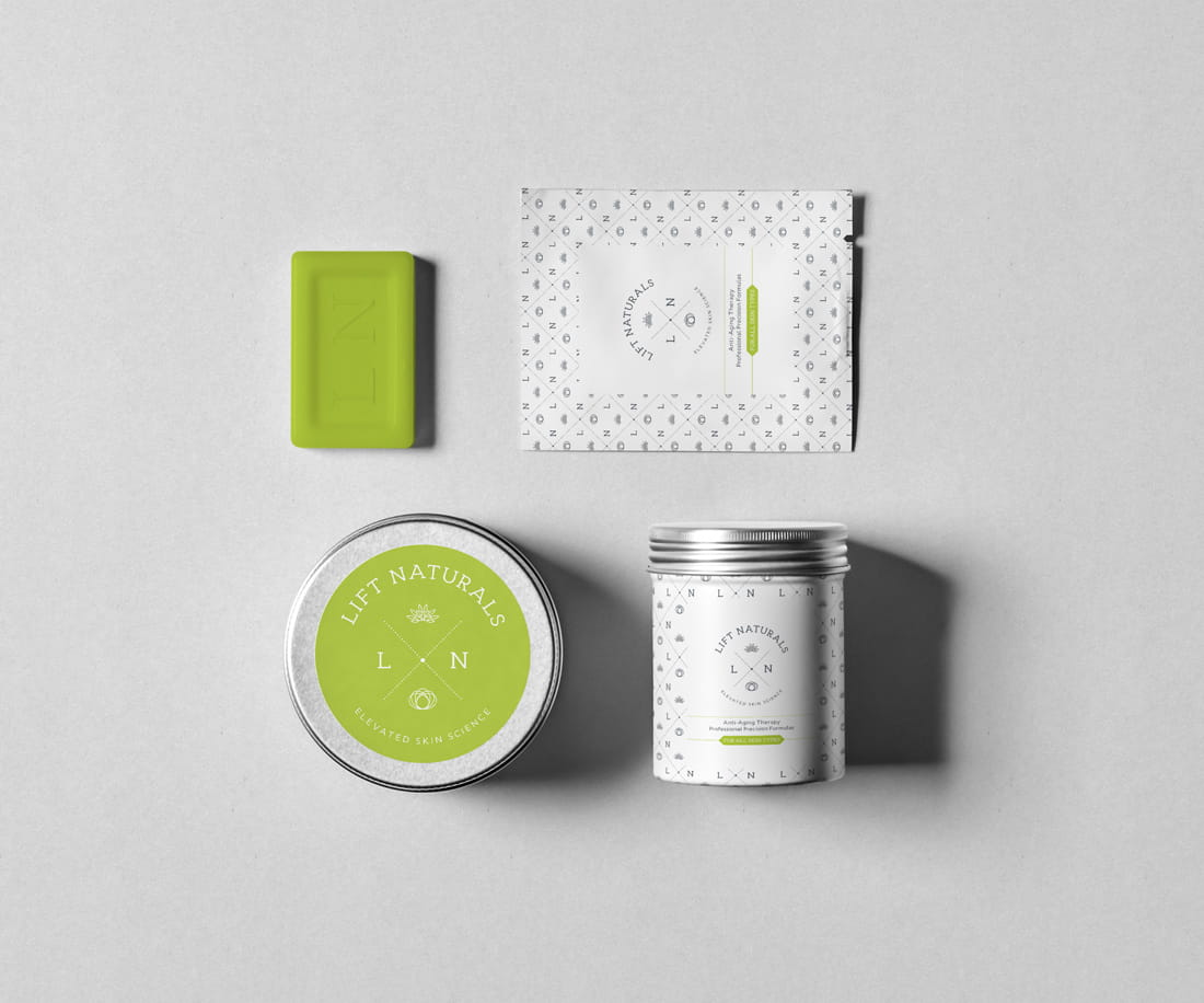 Organic cosmetics package design