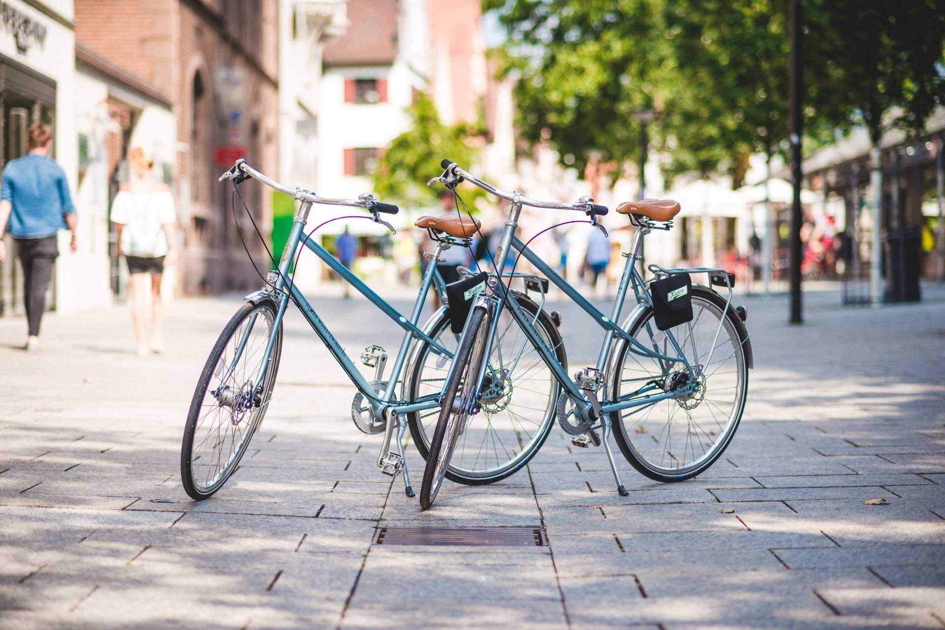 Ulmer Münster Hotel Fahrrad