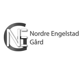 Logo Nordre Engelstad gård