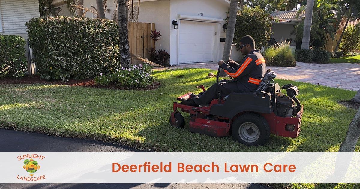 Deerfield Beach Lawn Care Company