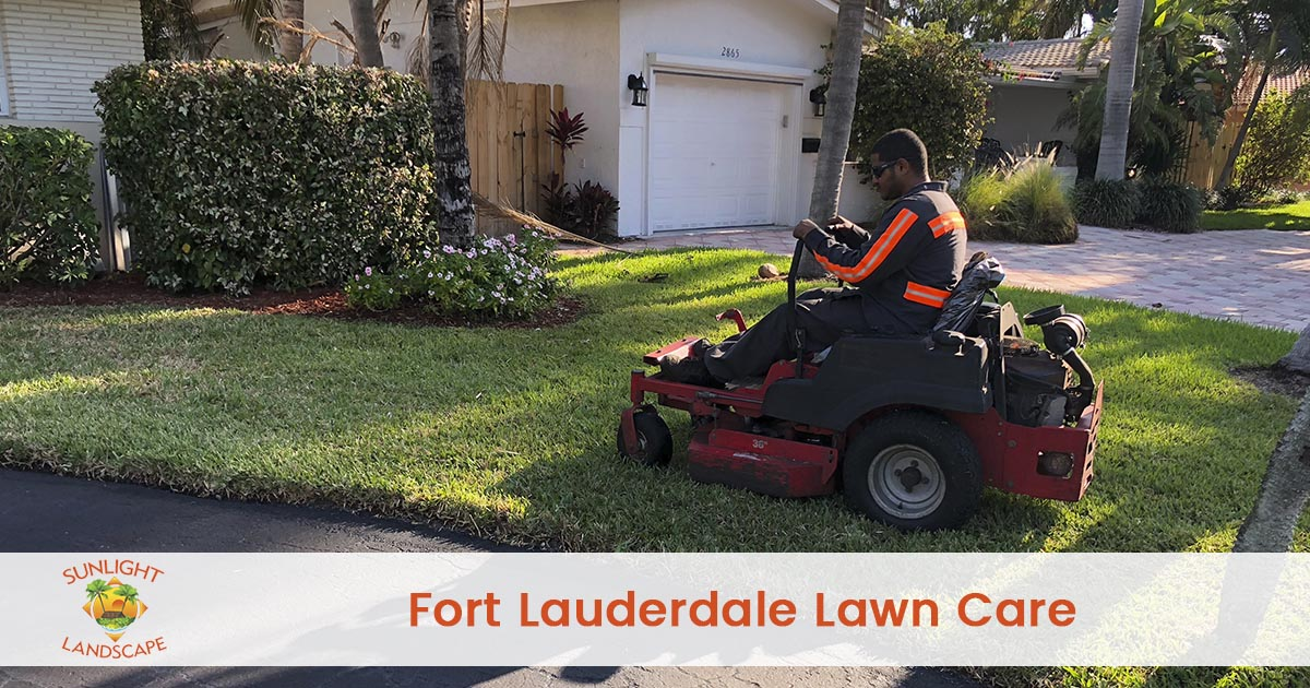 Fort Lauderdale Lawn Care Company