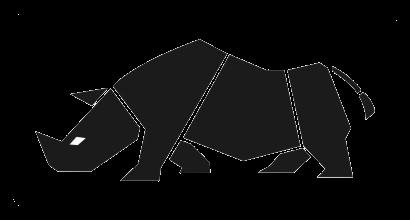 Black rhino logo