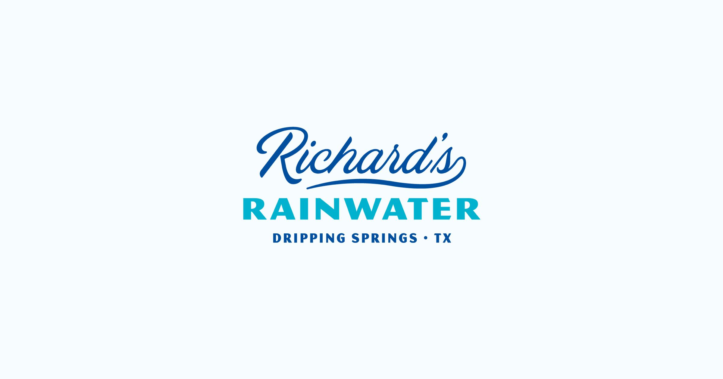 Richard's Rainwater logo.