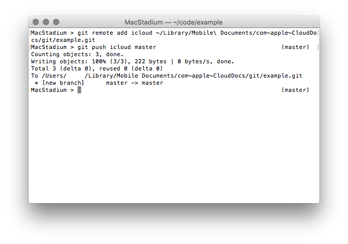 Git Terminal