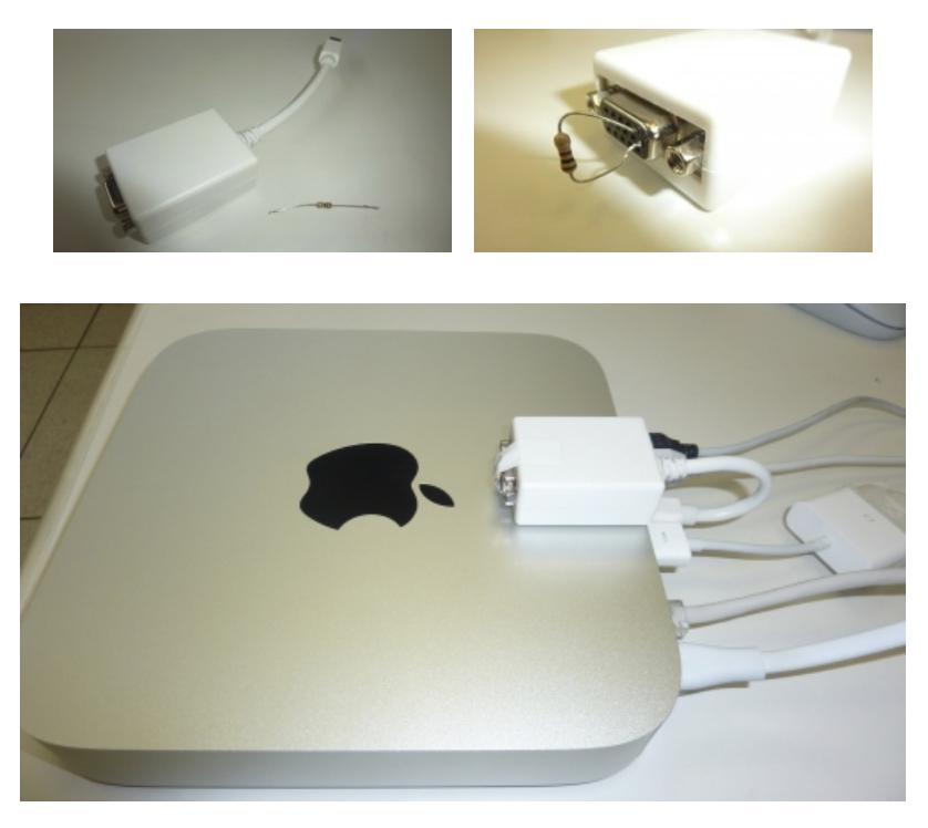 Mac mini dongle