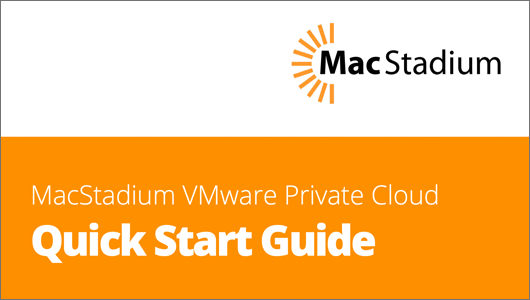 VMware Quick Start Guide