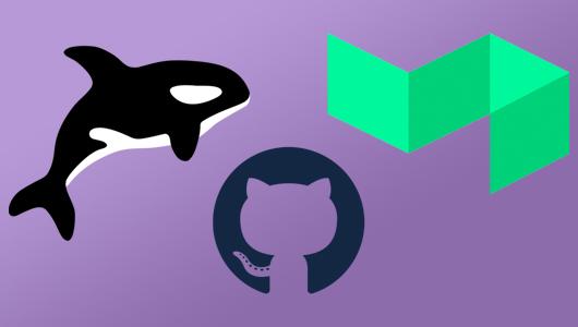 Orka, GitHub and Buildkite logos