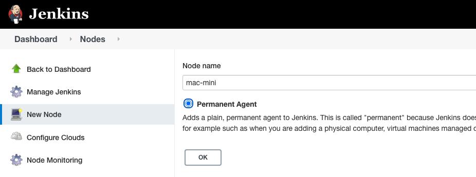 Jenkins node name screenshot