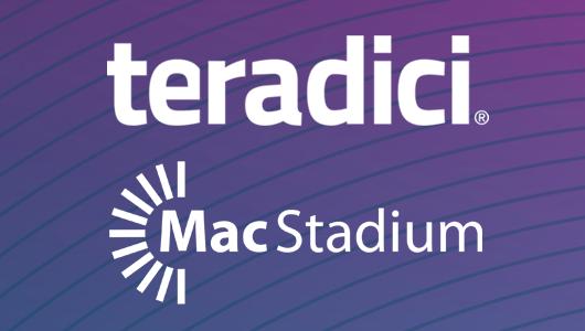 Teradici and MacStadium logos