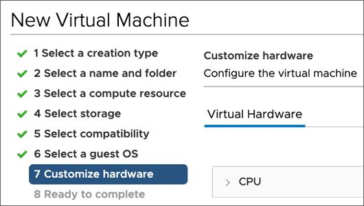 Configure screen for VMware on a Mac