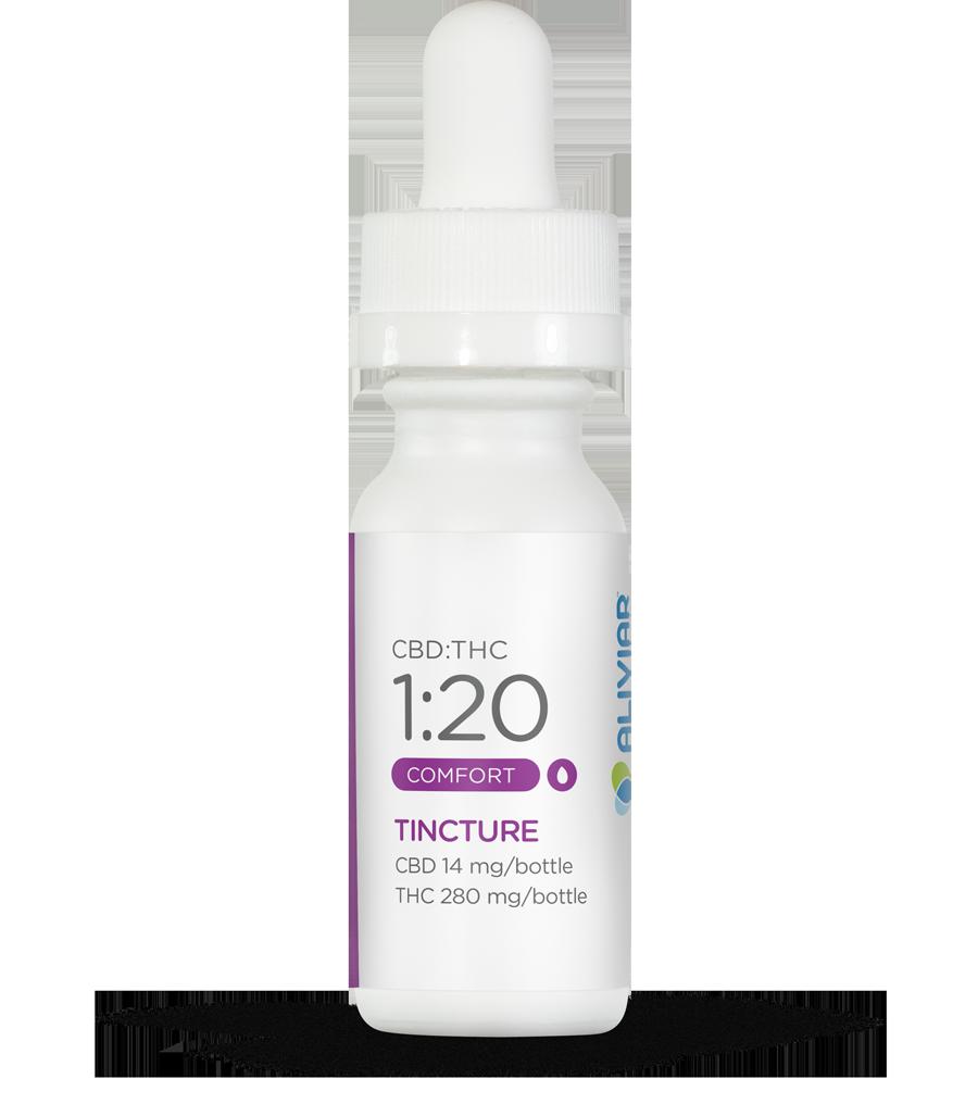 1:20 CBD:THC Tincture