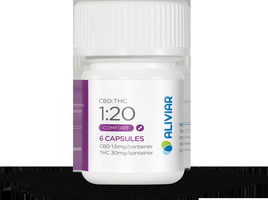 1:20 CBD:THC Capsule (Trial Pack)