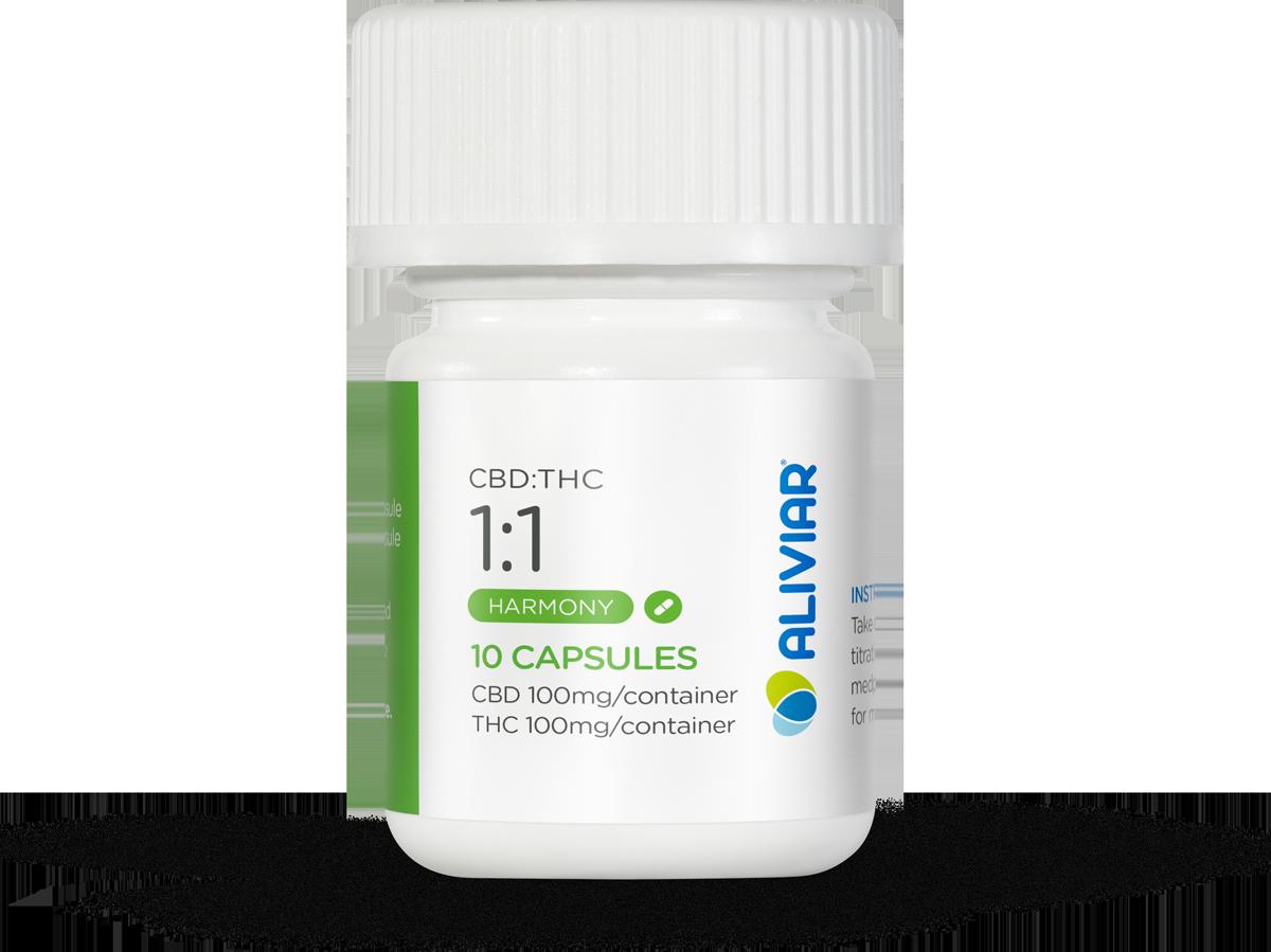 1:1 CBD:THC Capsule