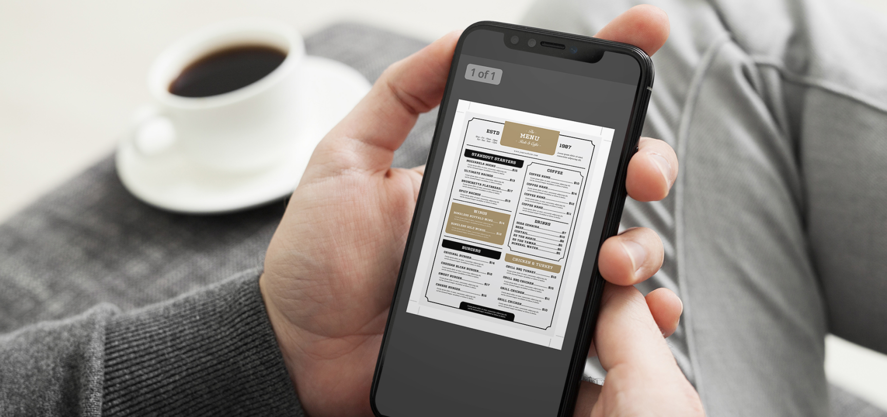 why you should get rid of your pdf restaurant menu