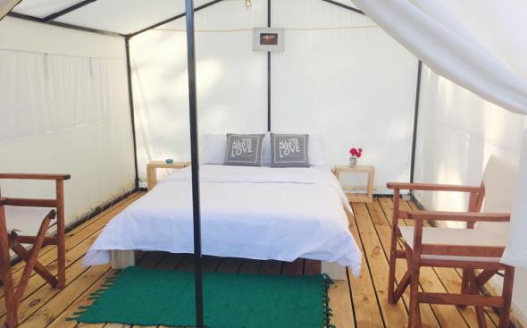 гора глемпинг, легло, палатка с легло, палатка спалня, къмпинг палатка, gora glamping