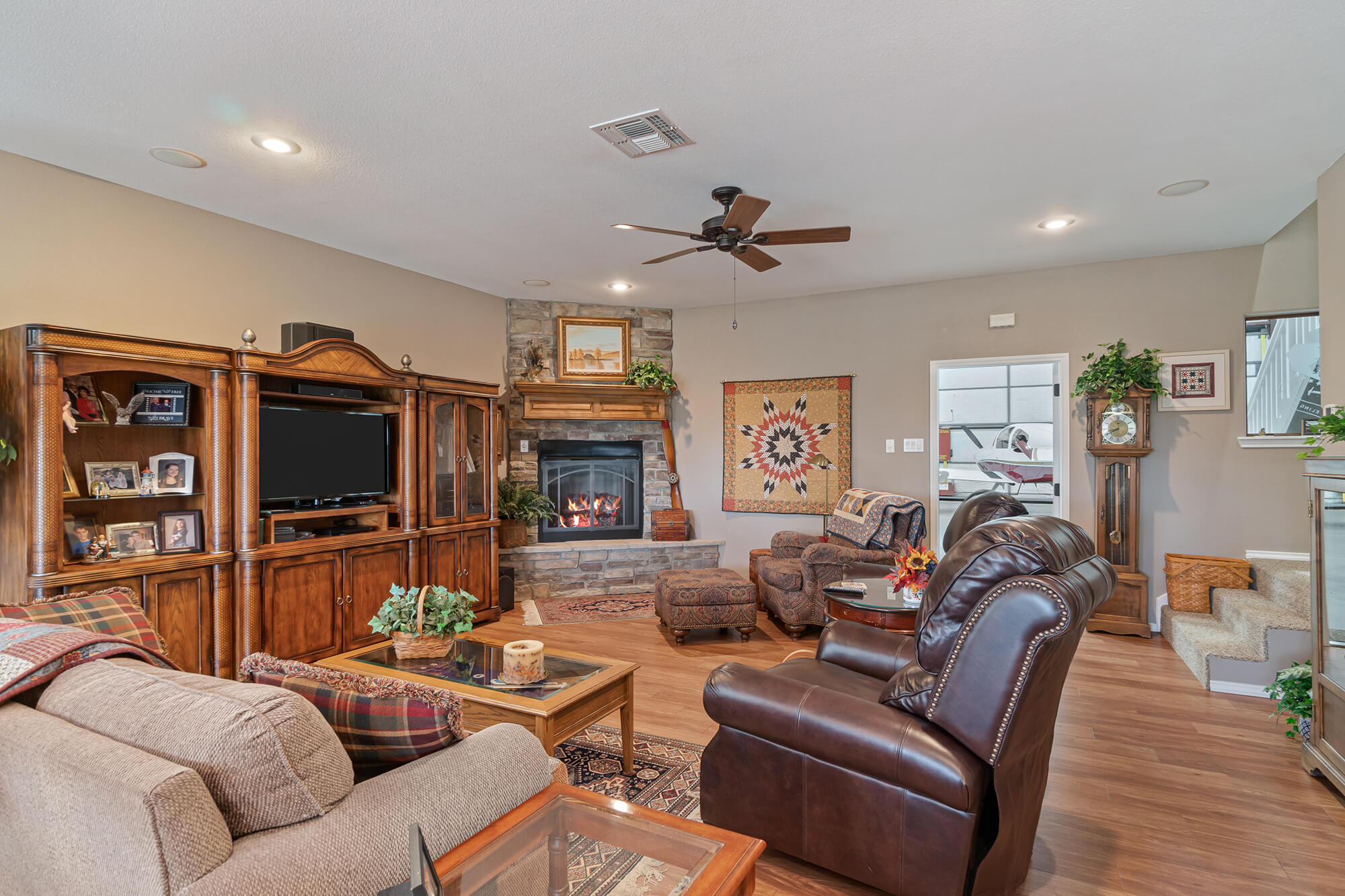 Tailwind hangar home living room