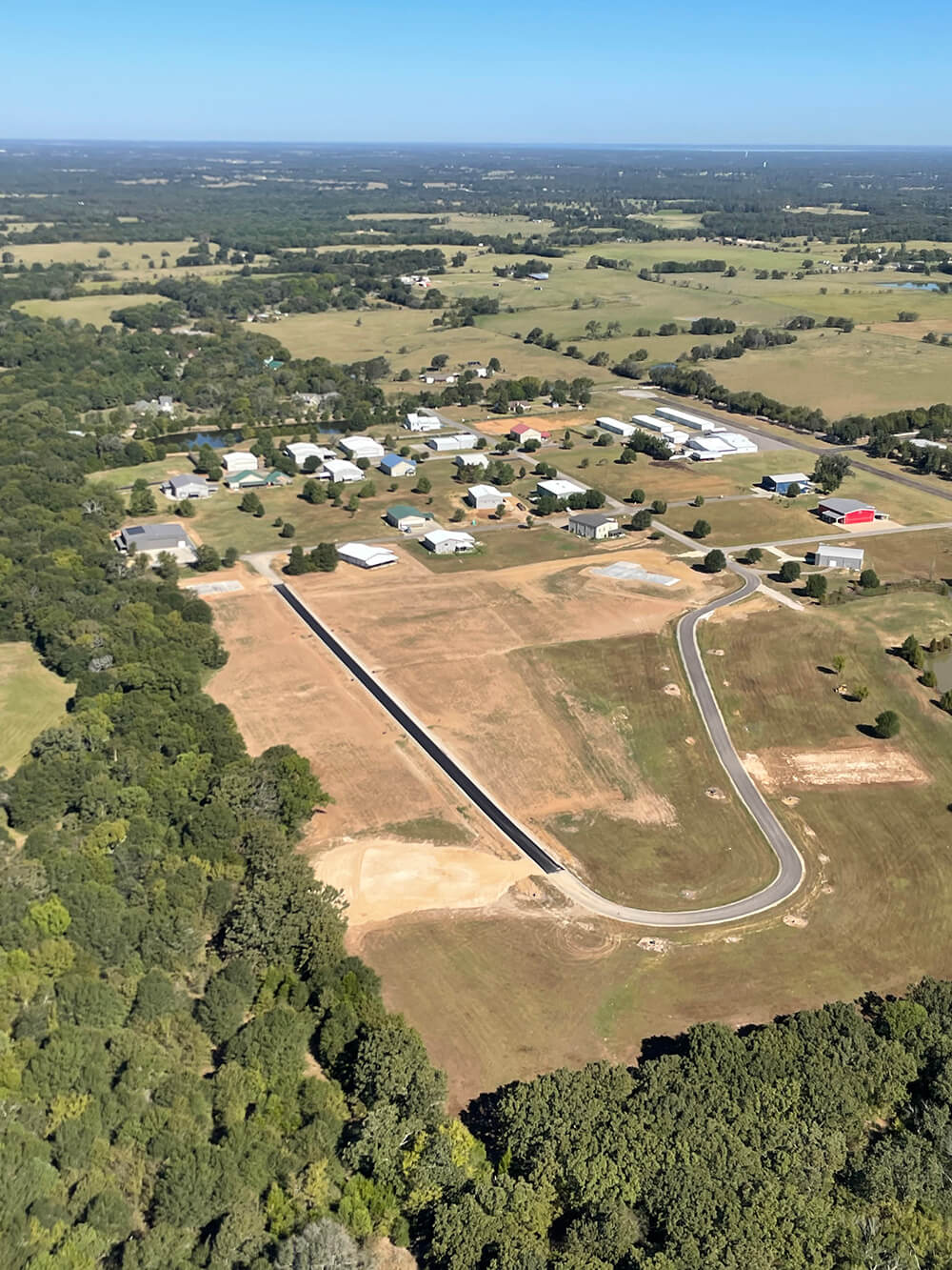 Hangar Homes Section 11 lots available