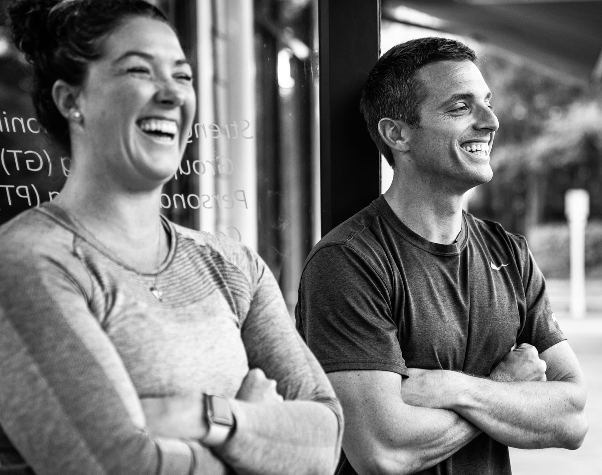 Mike Barnhart & Megan Tatum of Axis Fitness