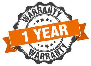 1 year warranty on cabinet painting