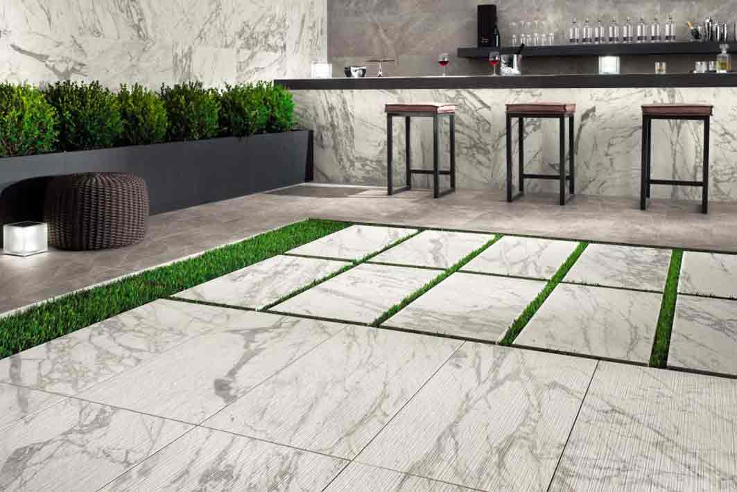 terrasse marbre