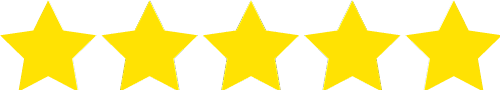 Image of stars for reviews