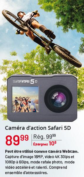 Caméra d'action Safari 5D