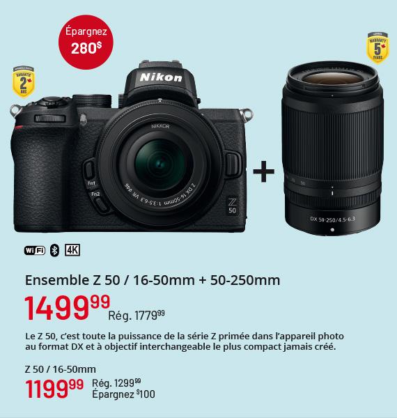 Ensamble Z 50 / 16-50mm + 50-250m