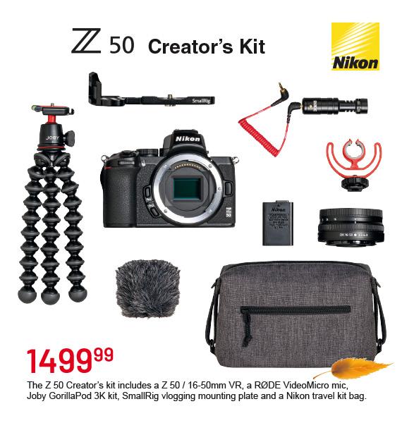 Z50 Creator's Kit