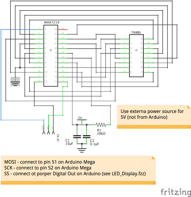 PIN layout of LED Module