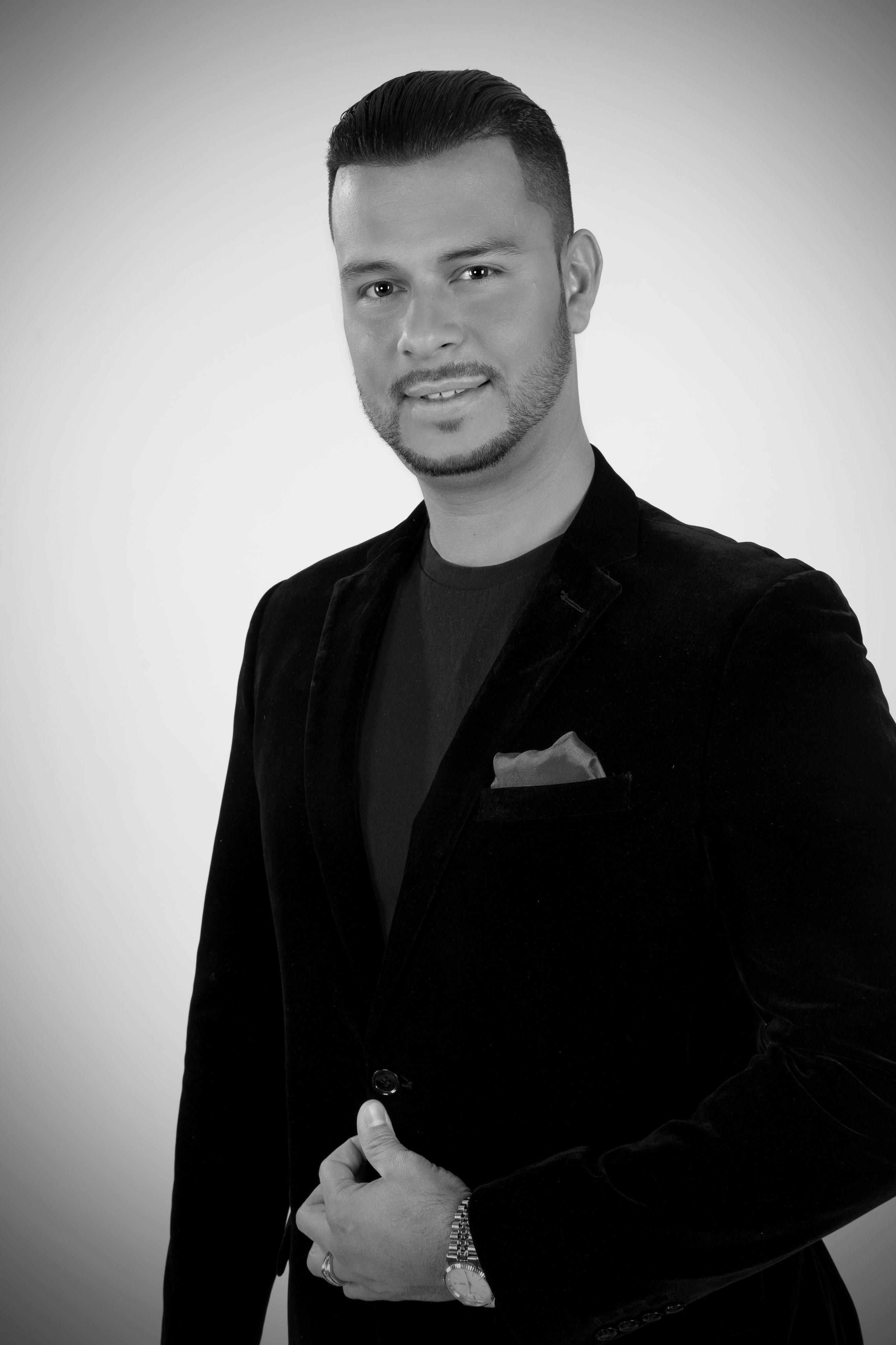 Portrait of Professional Dancer and Instructor Leo Mora