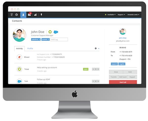 Screenshot Talkdesk
