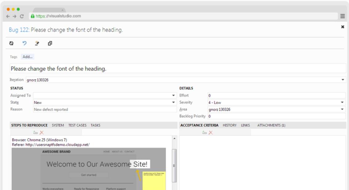 Azure DevOps + Usersnap | Agile Process with Feedbcak